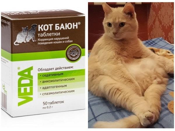 Успокоительное Кот Баюн для котов